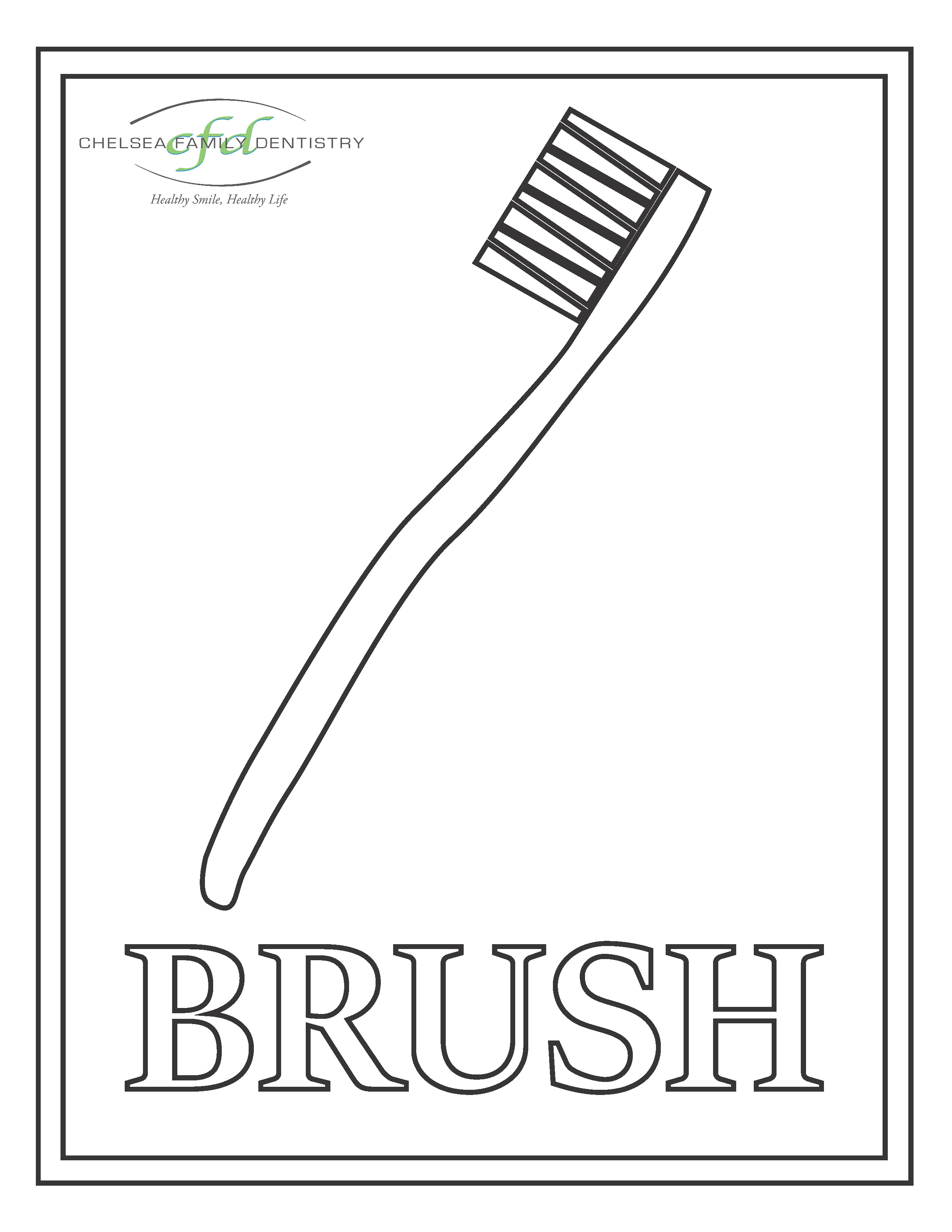 Toothbrush coloring page remarkable, very
